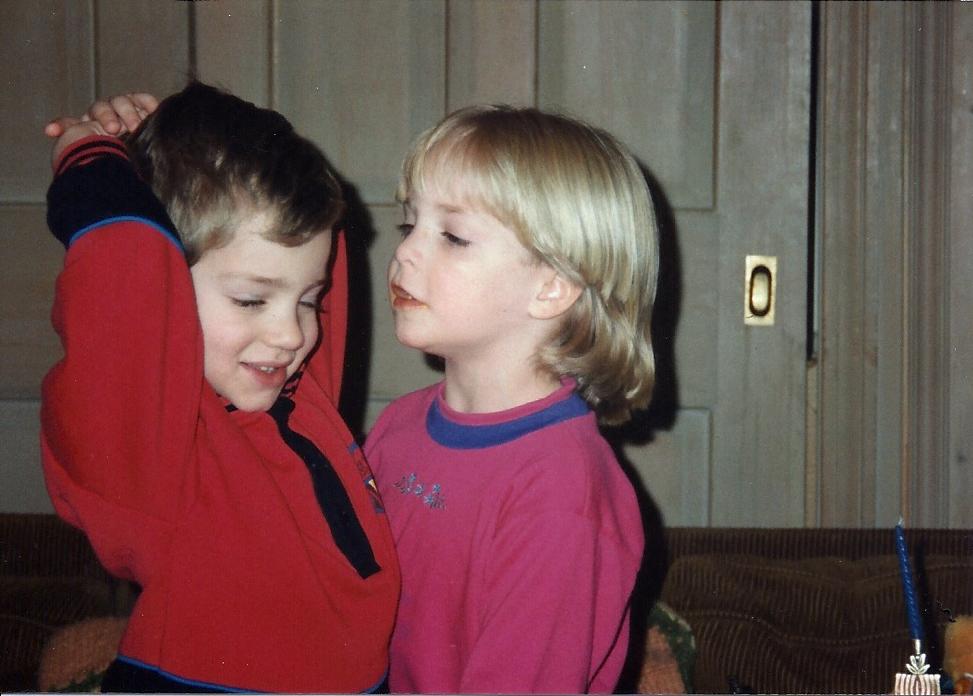 Jon-&-Jessica—Christmas-1989 | Bigelow Family Tree